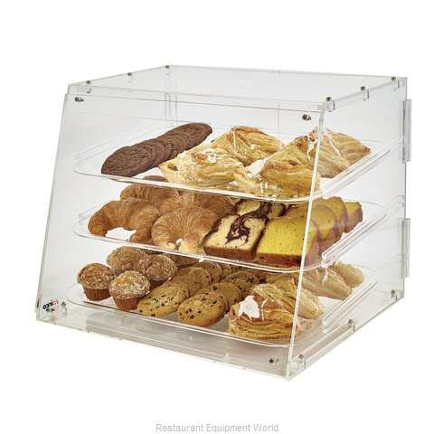 Winco ADC-3 Display Case, Pastry, Countertop (Clear)