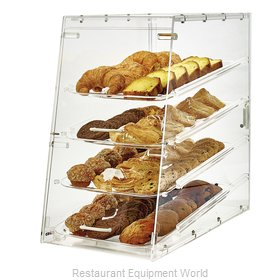 Winco ADC-4 Display Case, Pastry, Countertop (Clear)
