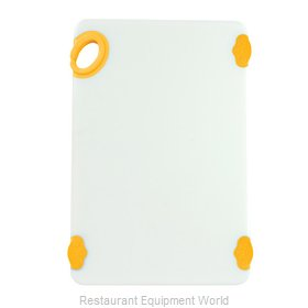 Winco CBN-1218YL Cutting Board, Plastic