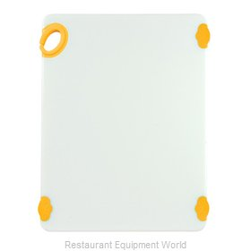 Winco CBN-1520YL Cutting Board, Plastic