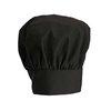 Sombrero del Chef <br><span class=fgrey12>(Winco CH-13BK Chef's Hat)</span>