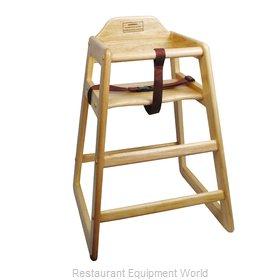 Winco CHH-101 High Chair, Wood