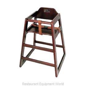 Winco CHH-103 High Chair, Wood