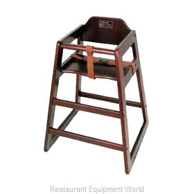 Winco CHH-103A High Chair, Wood