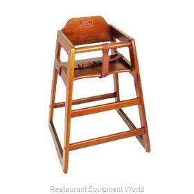 Winco CHH-104A High Chair, Wood