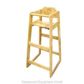 Winco CHH-601 High Chair, Wood