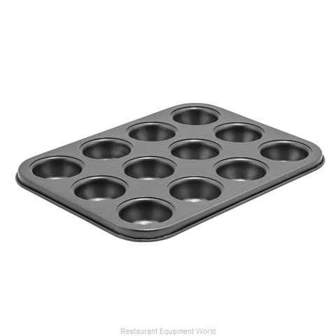 Winco CMF-12M Muffin Pan (Magnified)