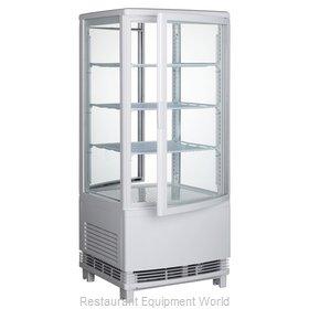 Winco CRD-1 Display Case, Refrigerated, Countertop