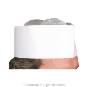 Winco DCH-3 Disposable Chef's Hat