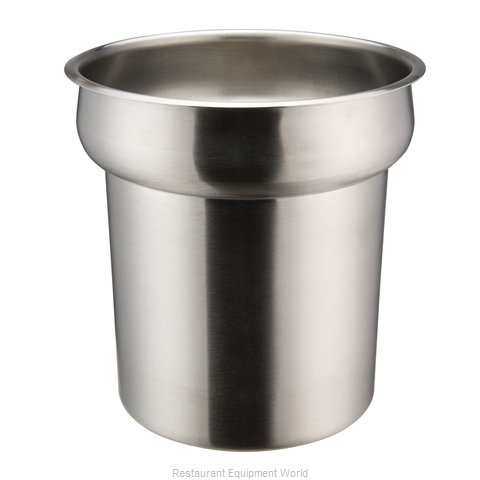 Winco INS-2.5 2.5-Quart Stainless Steel Inset