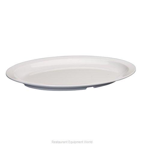 Winco MMPO-139W Platter, Plastic