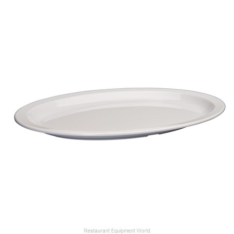 Winco MMPO-1510W Platter, Plastic
