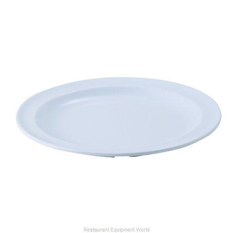 Winco MMPR-6W Plate, Plastic