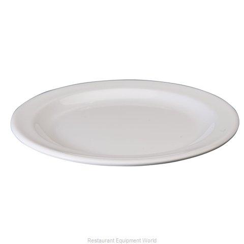 Winco MMPR-7W Plate, Plastic