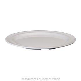 Winco MMPR-9W Plate, Plastic