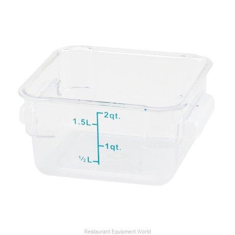 Winco PTSC-2 Food Storage Container, Square