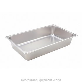Winco SPF4 Steam Table Pan, Stainless Steel