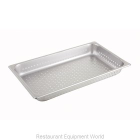 Winco SPFP2 Steam Table Pan, Stainless Steel