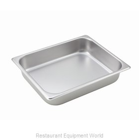 Winco SPH2 Steam Table Pan, Stainless Steel