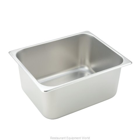 Winco SPH6 Steam Table Pan, Stainless Steel