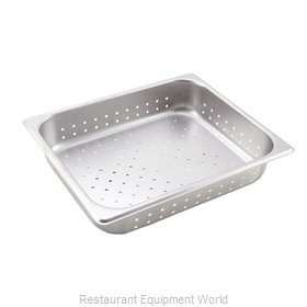 Winco SPHP2 Steam Table Pan, Stainless Steel