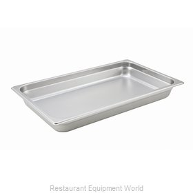 Winco SPJH-102 Steam Table Pan, Stainless Steel