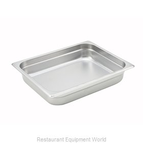 Winco SPJH-202 Steam Table Pan, Stainless Steel