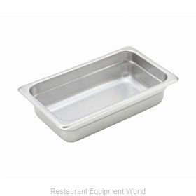Winco SPJH-402 Steam Table Pan, Stainless Steel