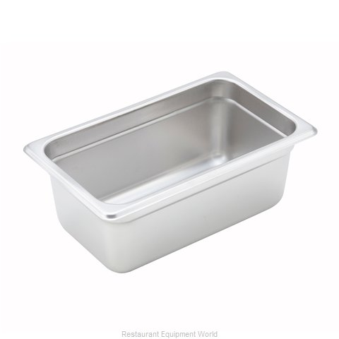 Winco SPJH-404 Steam Table Pan, Stainless Steel