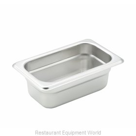 Winco SPJH-902 Steam Table Pan, Stainless Steel