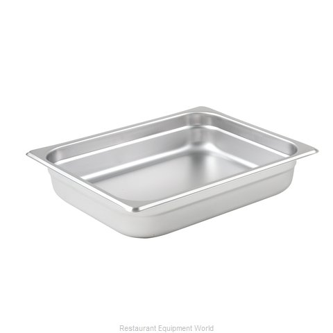 Winco SPJL-202 Steam Table Pan, Stainless Steel
