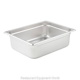 Winco SPJL-204 Steam Table Pan, Stainless Steel