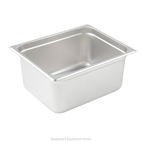 Winco SPJL-206 Steam Table Pan, Stainless Steel