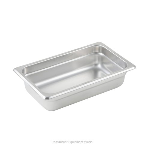 Winco SPJL-402 Steam Table Pan, Stainless Steel