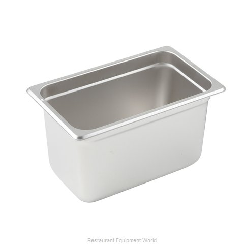 Winco SPJL-406 Steam Table Pan, Stainless Steel