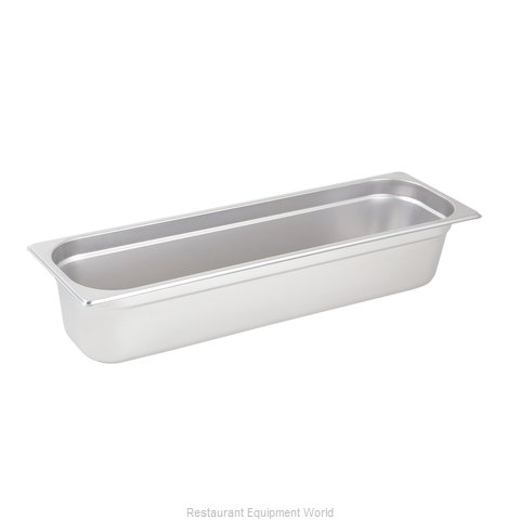 Winco SPJL-4HL Steam Table Pan, Stainless Steel