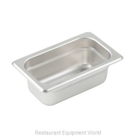 Winco SPJL-902 Steam Table Pan, Stainless Steel