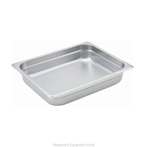 Winco SPJM-202 Steam Table Pan, Stainless Steel