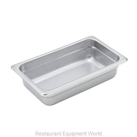 Winco SPJM-402 Steam Table Pan, Stainless Steel