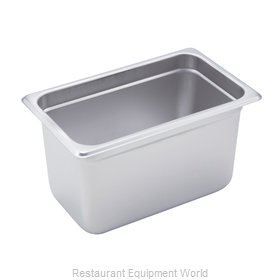 Winco SPJM-406 Steam Table Pan, Stainless Steel