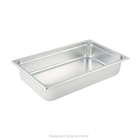 Winco SPJP-104 Steam Table Pan, Stainless Steel