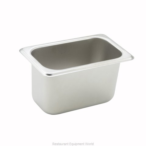 Winco SPN4 Steam Table Pan, Stainless Steel