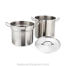 Winco SSDB-16S Induction Pasta Cook Pot