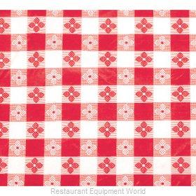 Winco TBCS-52R Table Cloth, Vinyl