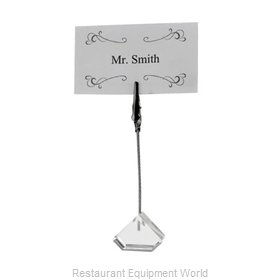 Winco TCD-4T Menu Card Holder / Number Stand