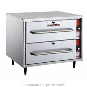 Wittco 200-2R-C@BI Warming Drawer Built-in