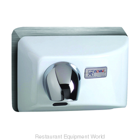 World Dryer 0712 NOVA 4 Recessed Mount Hand Dryer