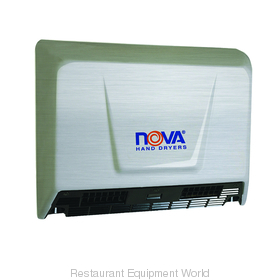 World Dryer 093079 NOVA 2 Surface Mounted Hand Dryer