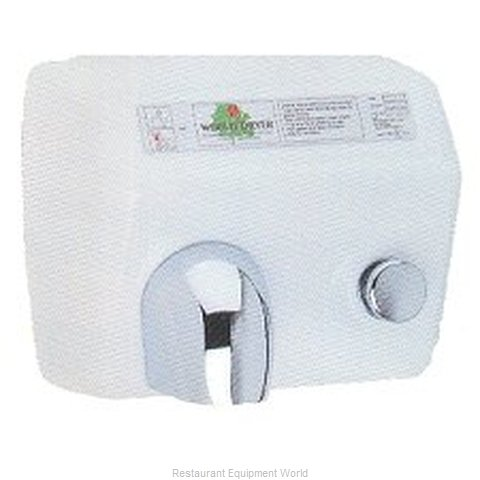 World Dryer A Surface Mount Hand Dryer