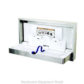 World Dryer ABC-300HSR DryBaby Horizontal Baby Changing Table